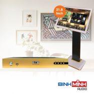 Đầu Karaoke BTE S650 + Màn Hình Cảm Ứng BTE 21,5 Inch