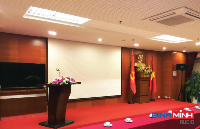 Công trình dàn âm thanh hội trường tại Lai Châu