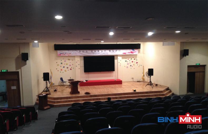 Dàn âm thanh hội trường chuyên nghiệp tại Lai Châu