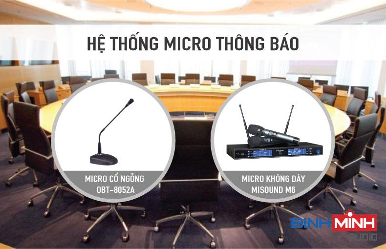 Hệ thống micro thông báo