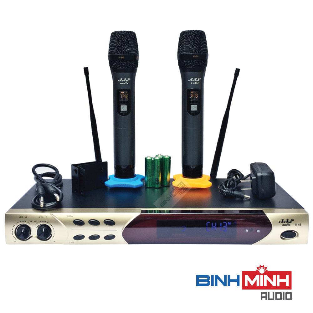 Micro karaoke không dây AAP Audio K66