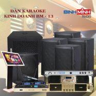 Dàn Karaoke Kinh Doanh BM 13
