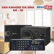 Dàn Karaoke Gia Đình BM 30