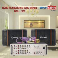 Dàn Karaoke Gia Đình BM 29