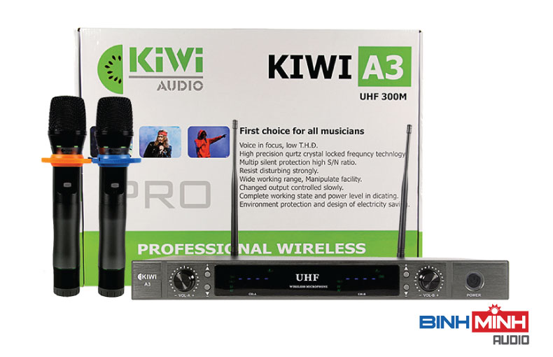 Micro karaoke Kiwi A3