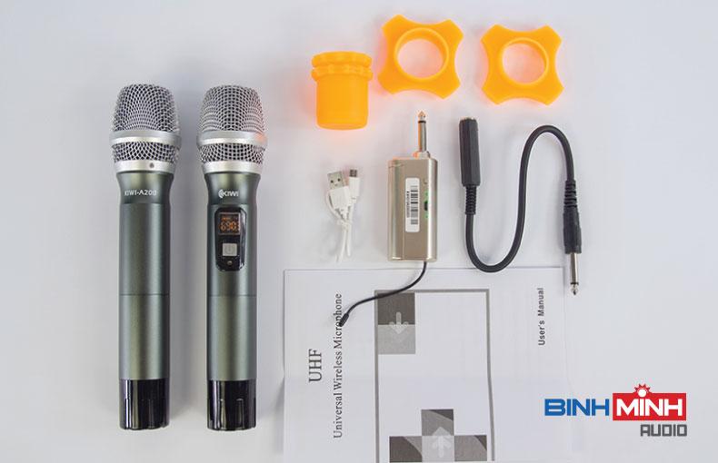 Trọn bộ micro không dây A200