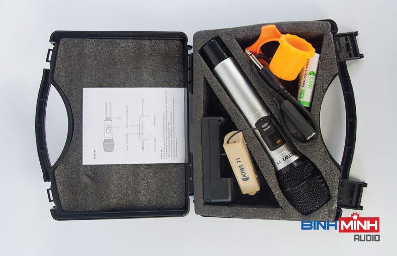 Trọn bộ micro không dây Kiwi T100