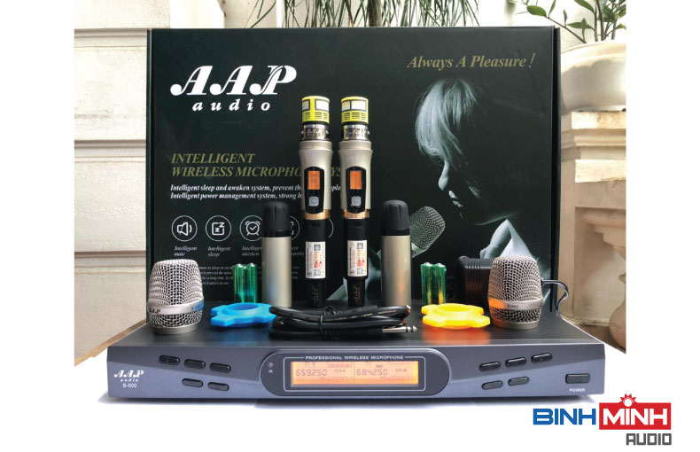 Bộ micro không dây AAP S500