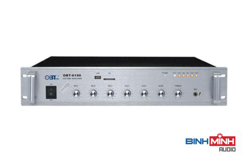 Amply OBT 6150 cho âm thanh hội thảo