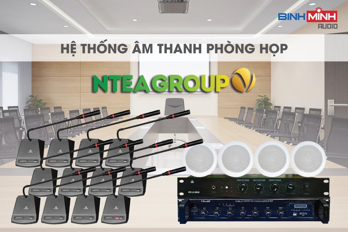 Dàn âm thanh phòng họp DB cho NTea Group