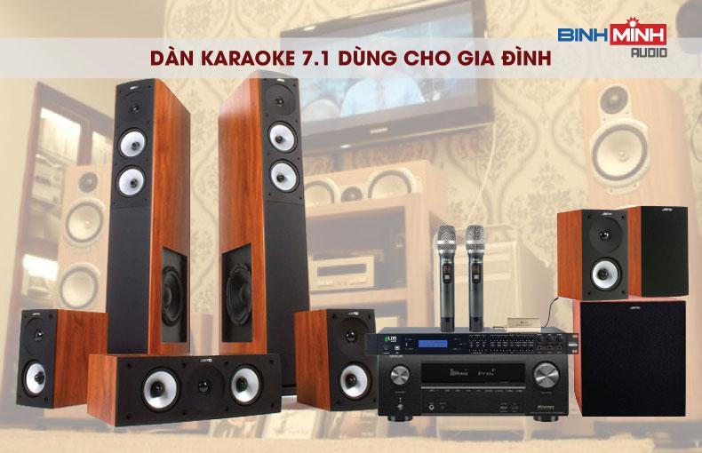 Dàn karaoke 7.1