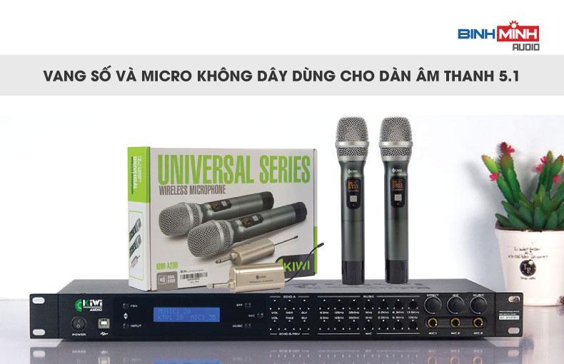 Thiết bị dùng để hát karaoke cho dàn 5.1