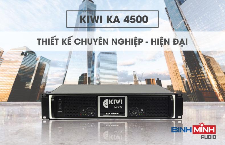 Mặt trước của KA4500