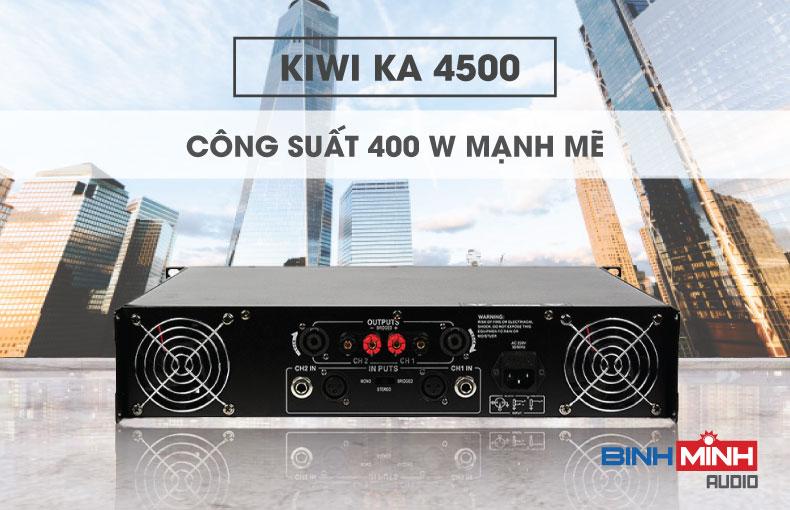 Mặt sau của KA 4500