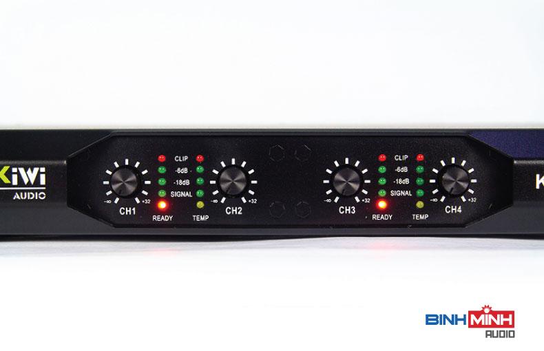 Hệ thống nút chỉnh và đèn báo