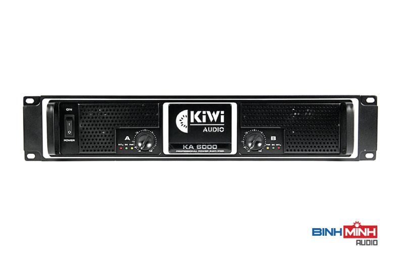 Logo Kiwi nổi bật phía trước