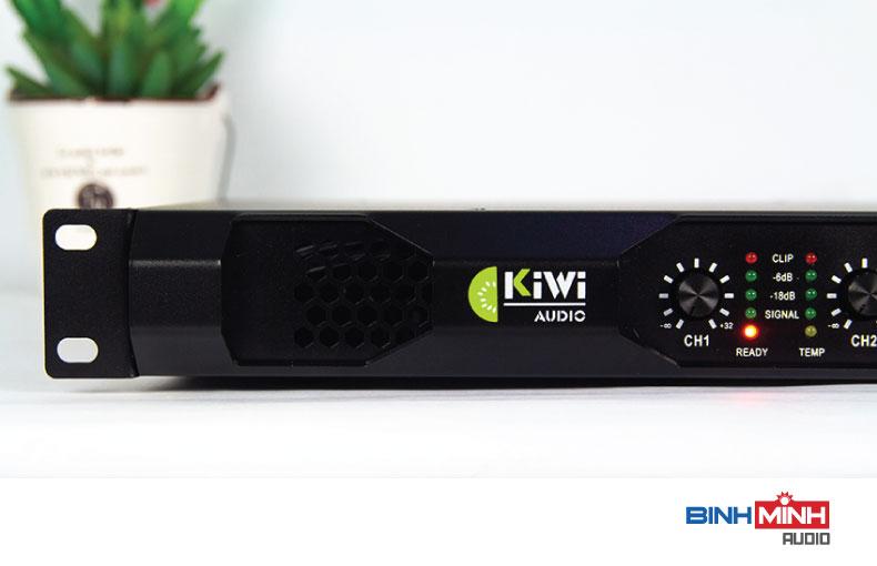 Quạt thông gió và logo Kiwi