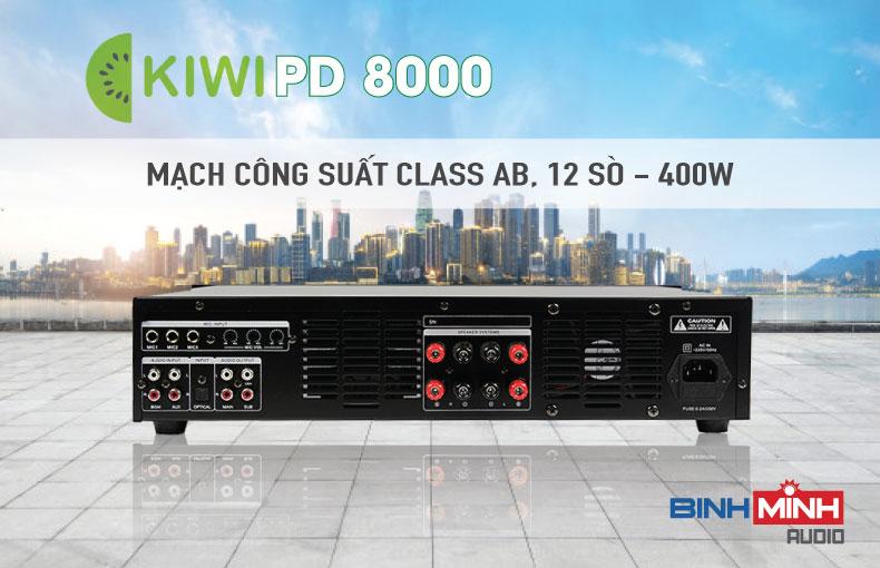 Mặt sau Kiwi PD8000