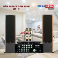 Dàn Karaoke Gia Đình BM 41