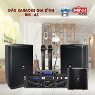 Dàn Karaoke Gia Đình BM 43